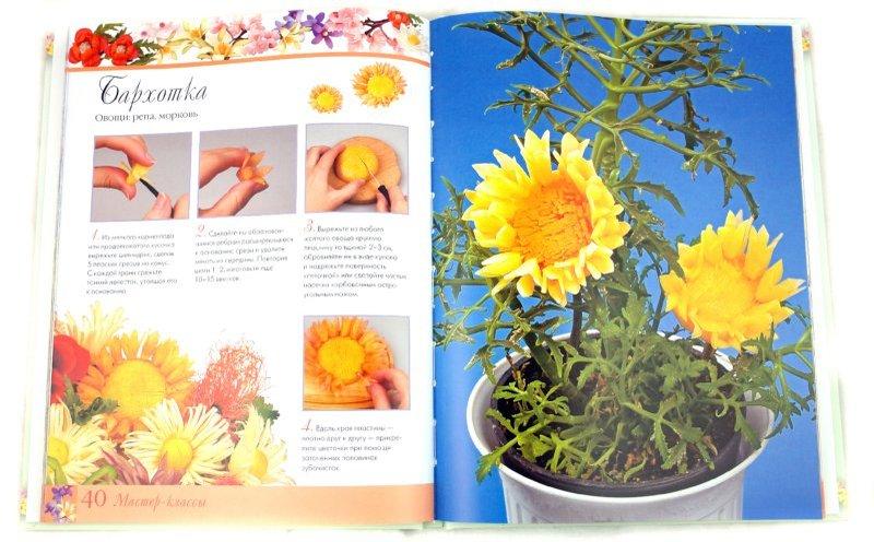 """Купить книгу """"Цветы из овощей. 32 модели за 45 минут"""""""