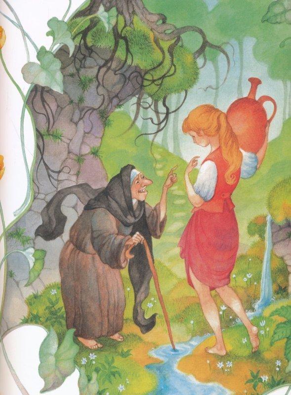 где, картинки к сказке шарля перро фея отлично заполняет