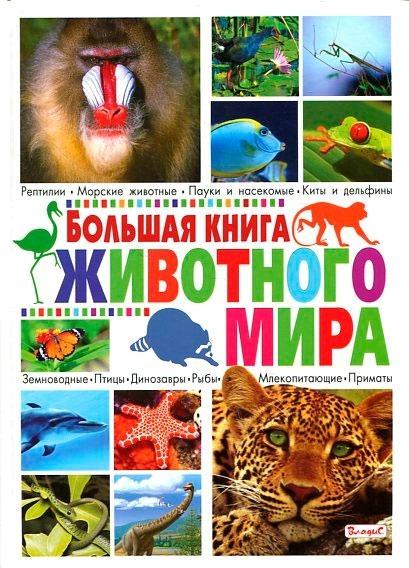 """Купить книгу """"Большая книга животного мира"""""""