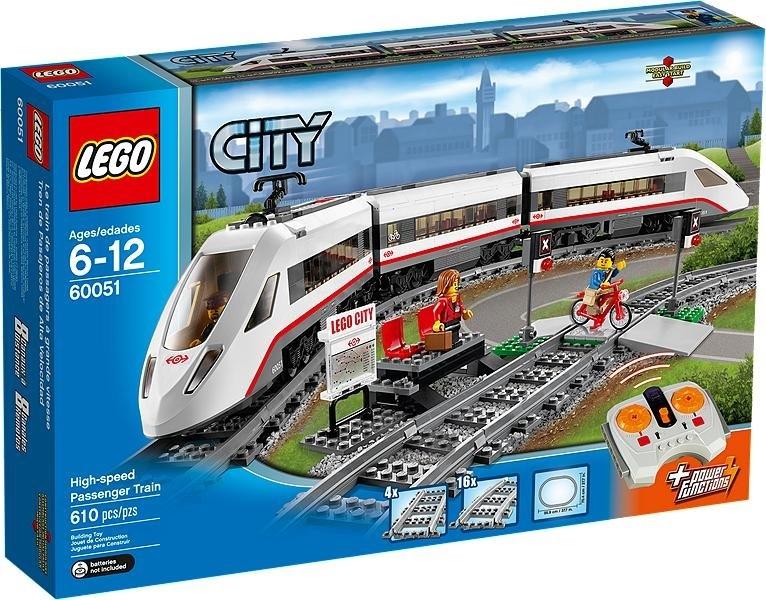 Купить Конструктор LEGO Скоростной пассажирский поезд (60051)