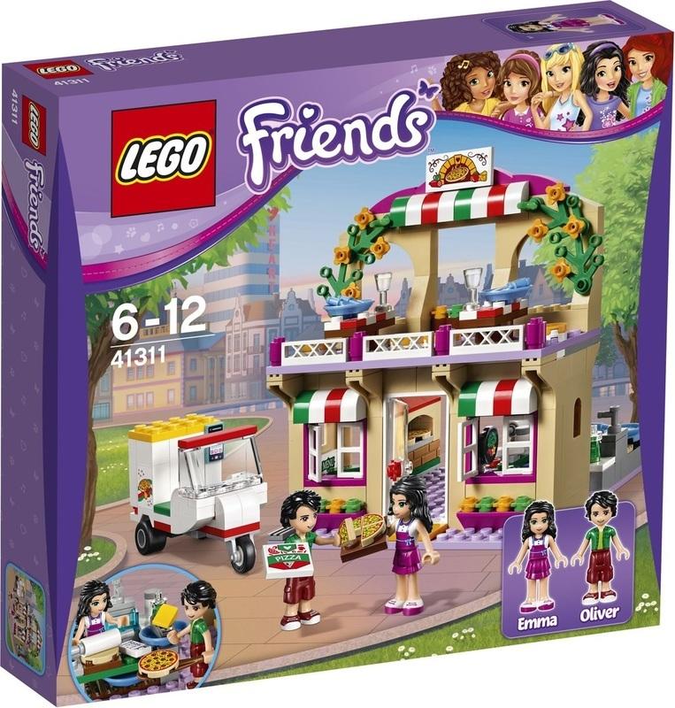 Купить Конструктор LEGO Friends Пиццерия в Хартлейке (41311)